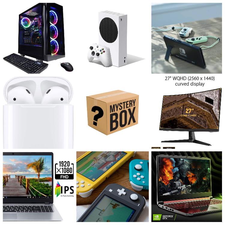 X Electronics Mystery Box